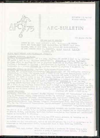 Bulletins (vnl. opstellingen) 1971-03-10