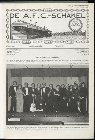 Schakels (clubbladen) 1981-01-07