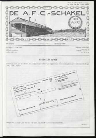 Schakels (clubbladen) 1984-02-29