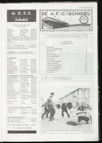 Schakels (clubbladen) 1986-03-12