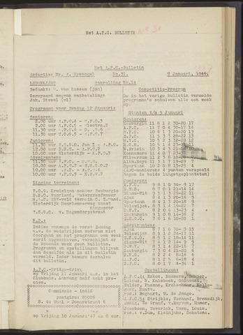 Bulletins (vnl. opstellingen) 1947-01-09