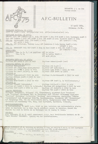 Bulletins (vnl. opstellingen) 1968-04-17
