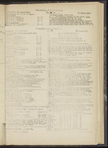 Bulletins (vnl. opstellingen) 1948-03-18
