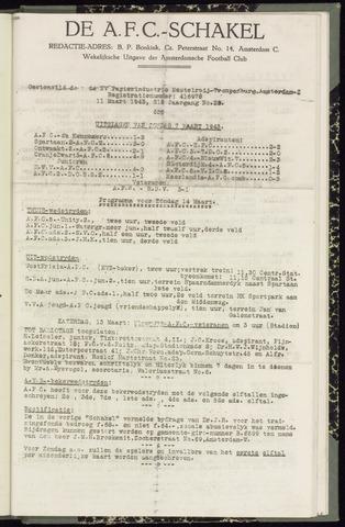 Schakels (clubbladen) 1943-03-11