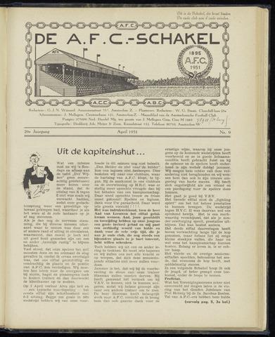 Schakels (clubbladen) 1951-04-01