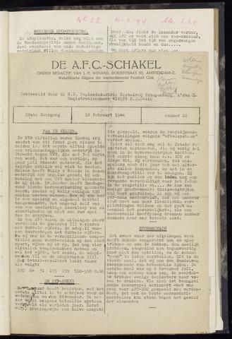 Schakels (clubbladen) 1944-02-10