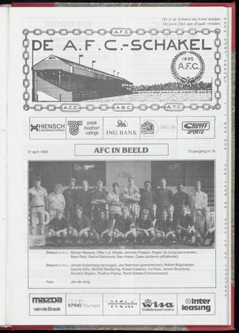 Schakels (clubbladen) 1993-04-21