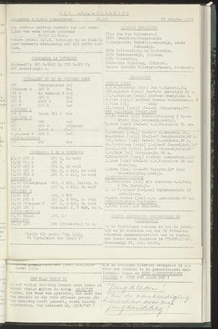 Bulletins (vnl. opstellingen) 1956-10-30