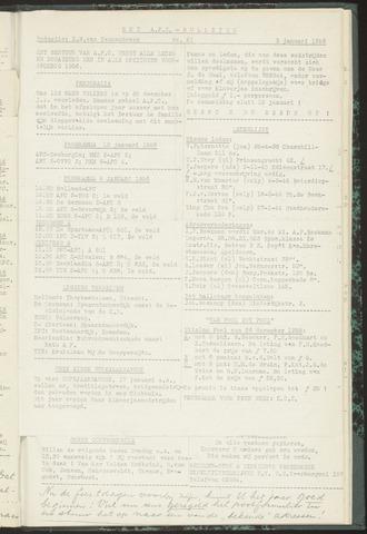Bulletins (vnl. opstellingen) 1956