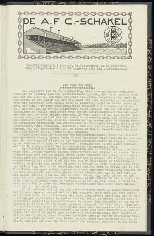 Schakels (clubbladen) 1938-08-25