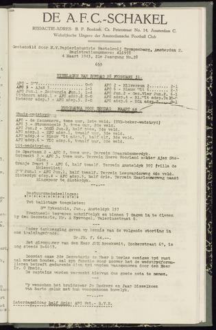 Schakels (clubbladen) 1943-03-04