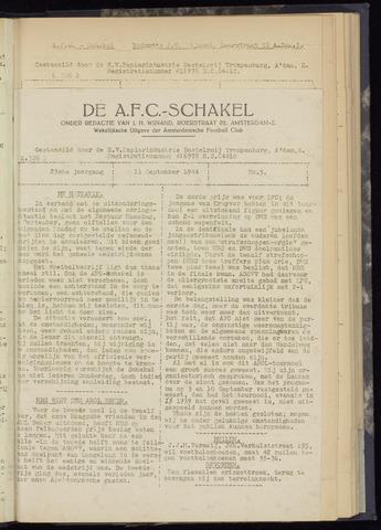 Schakels (clubbladen) 1944-09-11