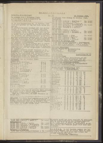 Bulletins (vnl. opstellingen) 1948-10-28