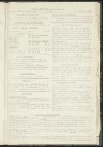 Bulletins (vnl. opstellingen) 1955-03-15