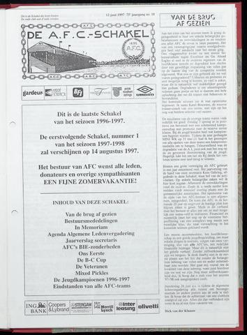 Schakels (clubbladen) 1997-06-12