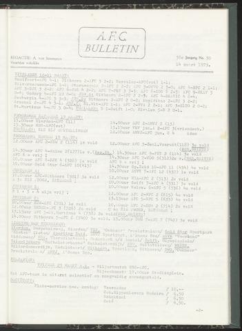 Bulletins (vnl. opstellingen) 1973-03-14