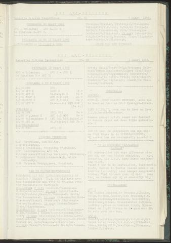 Bulletins (vnl. opstellingen) 1955-03-01