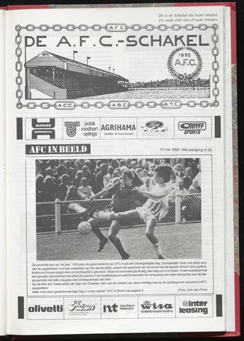 Schakels (clubbladen) 1989-05-10