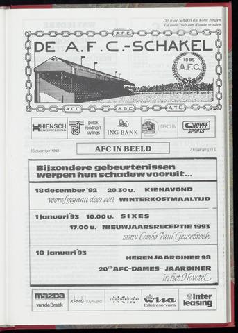 Schakels (clubbladen) 1992-12-16