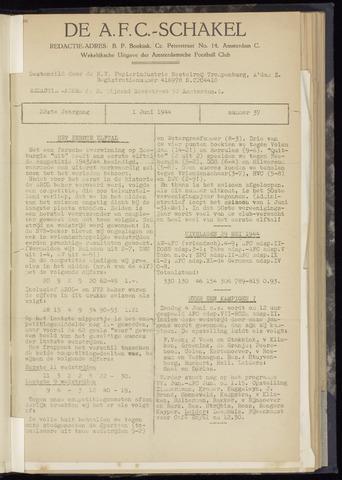 Schakels (clubbladen) 1944-06-01