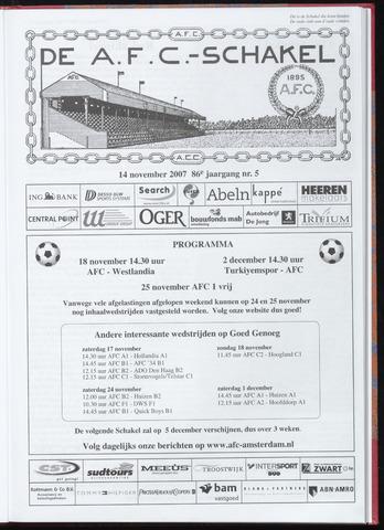 Schakels (clubbladen) 2007-11-14
