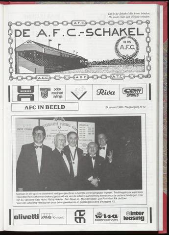Schakels (clubbladen) 1990-01-24