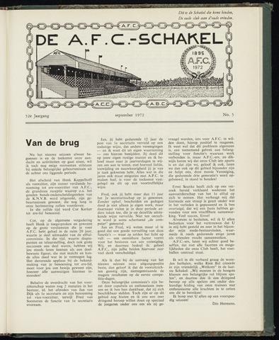 Schakels (clubbladen) 1972-09-01