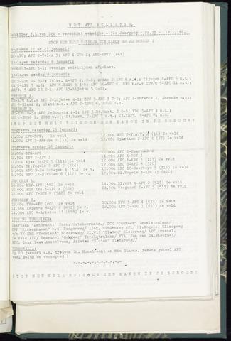 Bulletins (vnl. opstellingen) 1966-01-12
