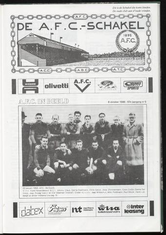 Schakels (clubbladen) 1986-10-08