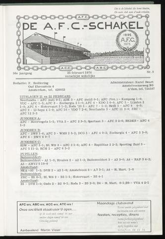 Schakels (clubbladen) 1976-02-25