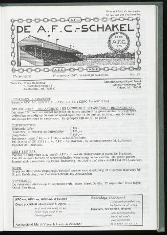 Schakels (clubbladen) 1977-08-17