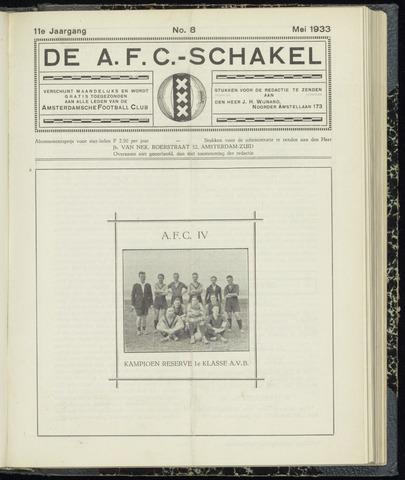 Schakels (clubbladen) 1933-05-01