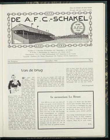 Schakels (clubbladen) 1966-11-01