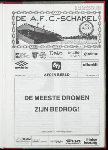 Schakels (clubbladen) 1995-02-08