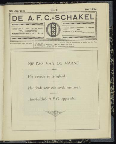 Schakels (clubbladen) 1934-05-01