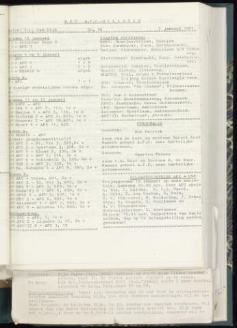 Bulletins (vnl. opstellingen) 1964-01-01