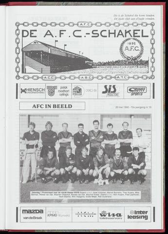 Schakels (clubbladen) 1992-05-20