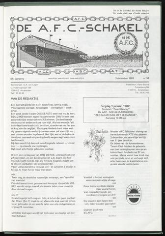 Schakels (clubbladen) 1981-12-03