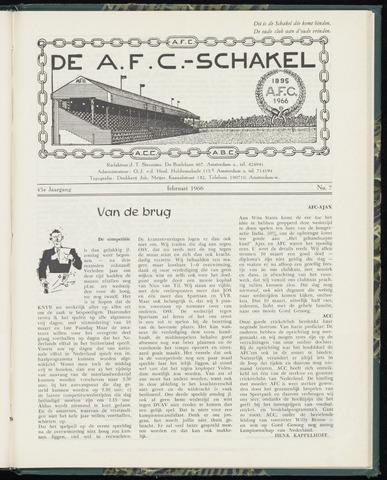 Schakels (clubbladen) 1966-02-01