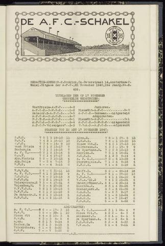 Schakels (clubbladen) 1940-11-21