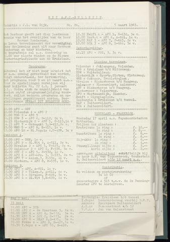 Bulletins (vnl. opstellingen) 1963-03-05