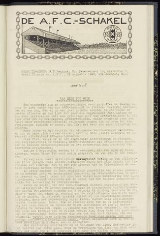 Schakels (clubbladen) 1940-08-22