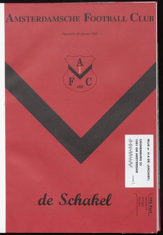 Schakels (clubbladen) 2004-08-18