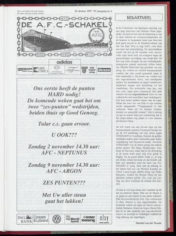 Schakels (clubbladen) 1997-10-29