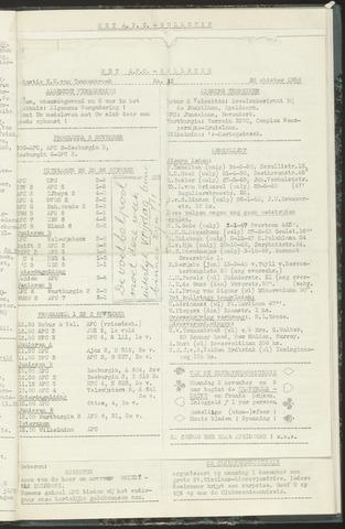 Bulletins (vnl. opstellingen) 1958-10-28