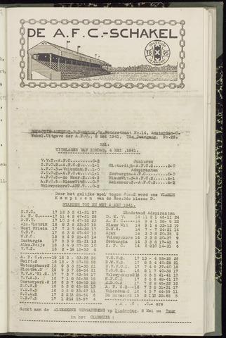 Schakels (clubbladen) 1941-05-08