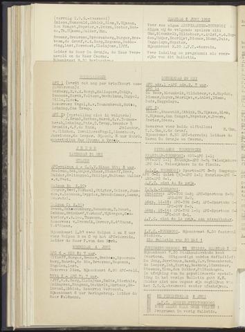 Bulletins (vnl. opstellingen) 1952-05-29