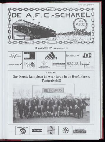 Schakels (clubbladen) 2001-04-11