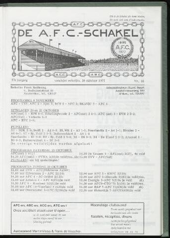 Schakels (clubbladen) 1977-10-26