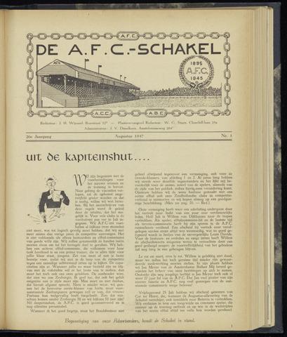 Schakels (clubbladen) 1947-08-01